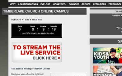 automated tools for church online