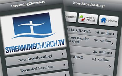 free streaming church service